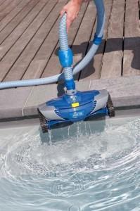 Ukázka bazénového vysavače
