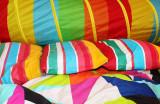 barevné povlečení